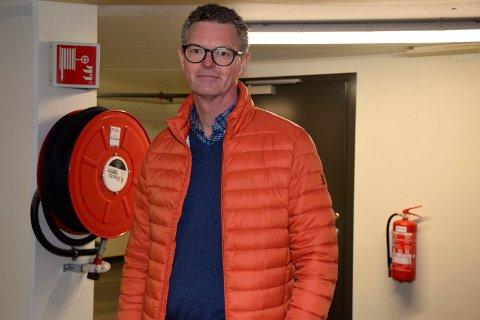 FOKUS HELE TIDEN: Ståle Strømsodd i Tronrud Eiendom sier at det jobbes kontinuerlig med brannsikkerheten i parkeringshusene.
