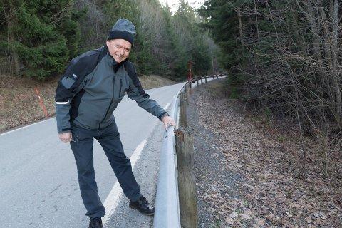 PILL RÅTTENT: Egil Johansen kan lett skape store bevegelser i autovernet på Røyse.  Pill råttent, er karakteristikken hans.