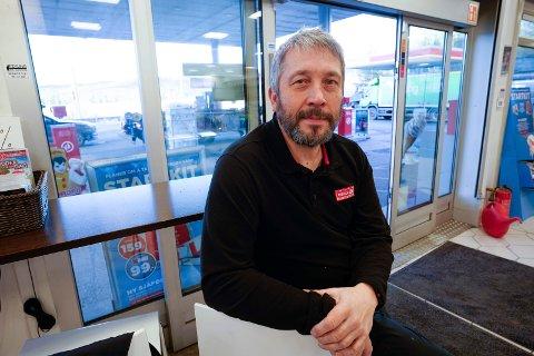 Innehaver: Hans Ole Braathen er innehaver av Circle K-stasjonen på Jevnaker.