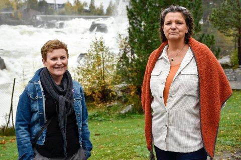 HADDE BRYSTKREFT: Anne Gro Gravermoen (45) og Trine Beate Berg (54) jobbet sammen i PP- tjenesten. På ett halvår fikk begge to brystkreft. De representerer de gode historiene.