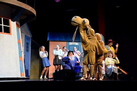 KAMELEN PROMPA! - Det morsomste med hele Kardemommeby var at kamelen prompa, sa unge tilhørere i salen.