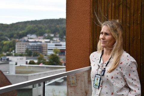 LOKALE MILJØER: Fagansvarlig for menneskehandel Tove Møller i Sørøst politidistrikt opplyser at det finnes hallikmiljøer i Drammen hvor det skal foregå menneskehandel.