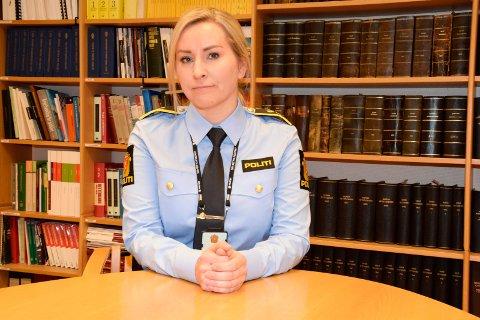 ETTERFORSKER VIDERE: Politiadvokat Lise Kjexrud-Egge opplyser at politiet fortsatt etterforsker saken, og at man venter på svar på prøver som er sendt inn.