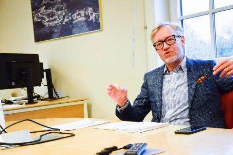 "PÅ BOK: Hvis det går som Torger Ødegaard ønsker, vil Hole kommune ha 60 millioner kroner ""på bok"" neste år."