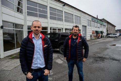 SAMME ADRESSE: Både Jørgen Evensen og Vukasin Velimir er på flyttefot, men de beholder samme adresse som før.