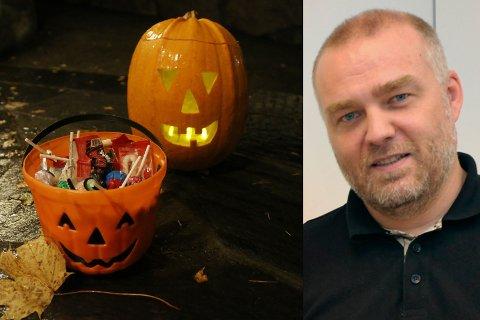 FORTSATT INGEN NY SMITTE: Kommuneoverlege Bernt Ivar Gaarder støtter markeringen av Halloween, men minner samtidig om nasjonale retningslinjer.