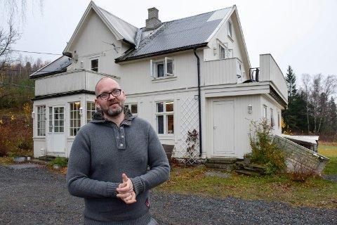 TRIVES: Her ønsker Håvard Hermansen å bli etter at soningen er avsluttet. Han stortrives hos Maritastiftelsen i Hole.