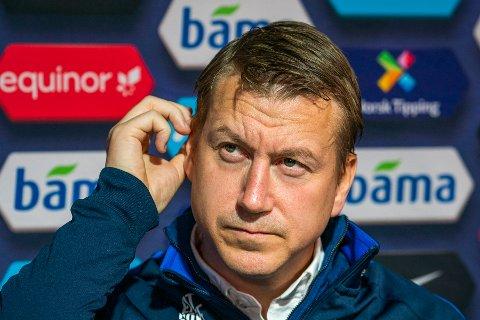 U21-landslagstrener Leif Gunnar Smerud presenterer troppen til landskampene i november.