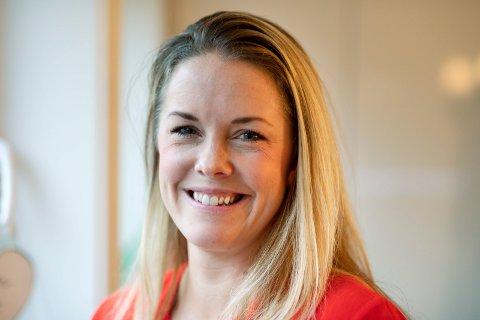 ENDELIG: Malin Bruset (37) har endleig fått sin barnemat ut i salg.