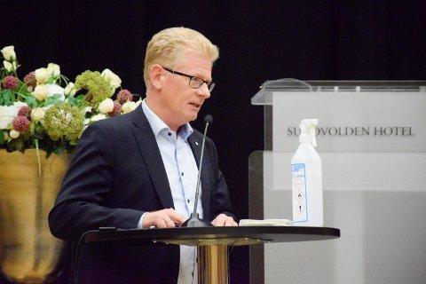 FLERE BESØK: Nils Herman Kiær påpekte at tilrettelegging for flere besøkende også vil sette penger i omløp i Hole.