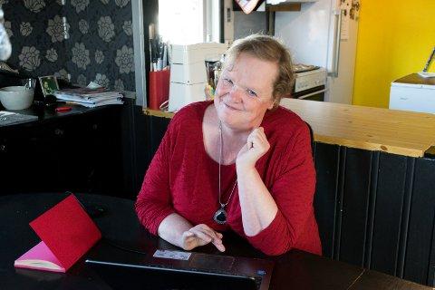 SLAPPER AV MED BLOGGING:  Bloggen er mitt fristed, sier Brit Helen Walbækken Bøhler (54). Kjerringtanker har 1.000 daglige lesere og er blant de mest populære i landet.