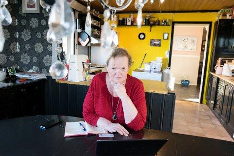 BLOGGER: Brit Bøhler har blogget i flere år. Torsdag hadde hun over 10.000 sidevisninger.