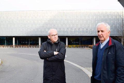 URIMELIG: Terje Dahlen og Ringerike kommune mener det er urimelig at Ola Tronrud skal bli nødt til å lage en ny plan for arealene ved nye E16, når statusen kan avgjøres nå.