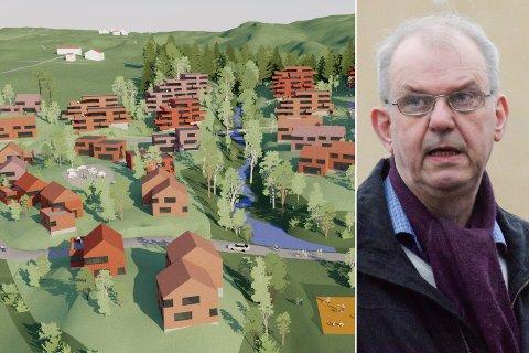 FRA NEI TIL JA: – Jeg synes at dette er et veldig godt prosjekt, som knytter to boligområder sammen, sier gruppeleder Runar Johansen (H). Den politiske holdningen til utbygging av Borgerenga har snudd på kort tid.