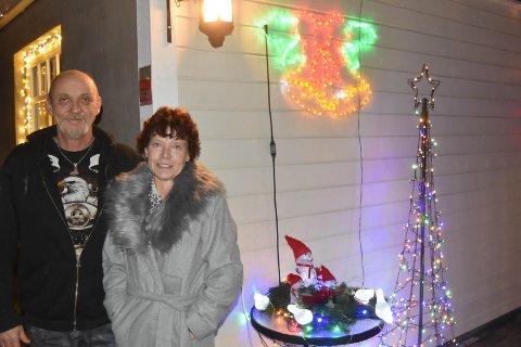 RUSTER ALDRI: Terje og Tove Irene var barndomskjærester, men fant hverandre igjen etter 36 år.
