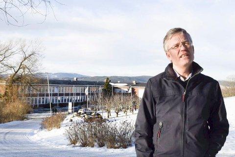 Styrkår Dramstad, rektor ved Tyrifjord videregående skole.