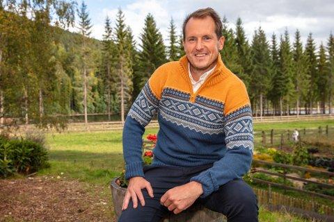 UTFORDRER: Per Gunvald Haugen har sikret seg semifinaleplass i Farmen. I kveld skal han kjempe om finaleplass og muligens hytte og bil hvis han klarer å kjempe seg så langt.