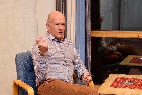 PÅ TÅ HEV: Ordfører i Hole, Syver Leivestad (H).