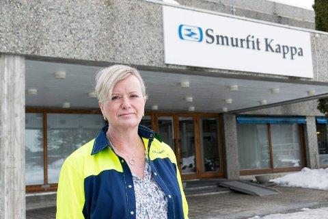 Wenche Ravlo, administrerende direktør ved Smurfit Kappa Norge.