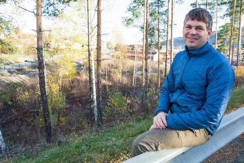 NY JOBB: Audun Mjøs slutter i Modum kommune etter drøyt 11 år. Han begynner som daglig leder i Ringerike Boligstiftelse..