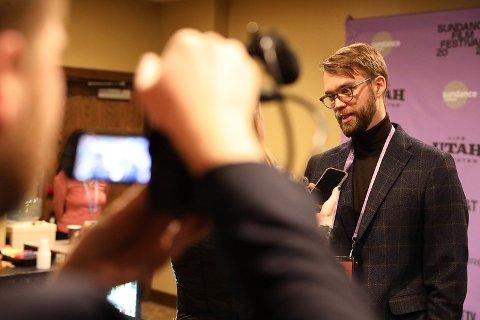 DYKTIG FILMSKAPER: Benjamin Rees film høstet strålende kritikker og mye ros fra bransjefolk, inkludert festivalsjefer for sin dokumentarfilm.