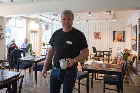 POSITIV: Jon Gulbrandsen i Kirkens Bymisjon er positiv til å ta over tilbudet til rusmisbrukere når Villa'n stenges.