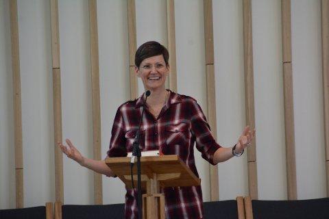 Lena Ros Matthiasdottir, leder i Foreningen Norden Ringerike.