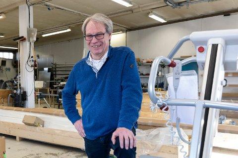 KREATIVITET: – Det kommer mange gode forretningsideer i og etter en krise, sier Svein Eystein Lindberg i Ringerike Etablerersenter.