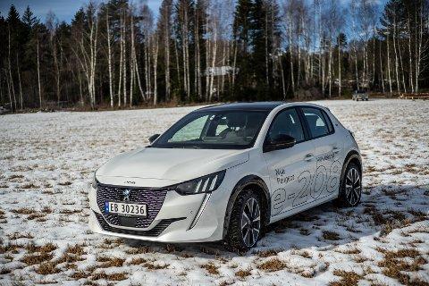 ELBILEN e-208: Jeg synes Peugeots nye 208-serie er penest i klassen per i dag.