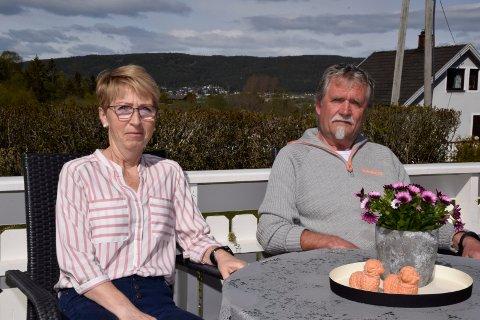 STERKT FORHOLD: Lisbet og Ivar Sandland har alltid hatt et tett og godt forhold. Ulykken har gjort dem mer obs på at de faktisk kan miste hverandre.