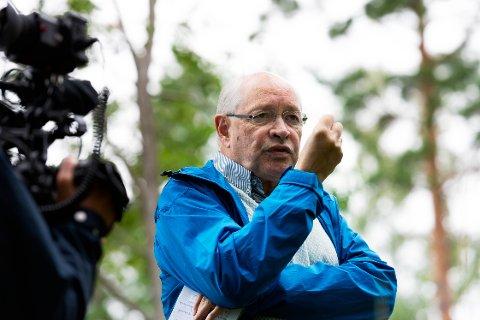 DRAMATISK: Martin Kolberg er takknemlig for hjelpen han fikk da han kollapset på Stortinget.