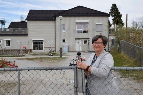 SKAFFER OVERSIKT: Daglig leder i Tolpinrud barnehage, Anne Guri Ulven Larsen ønsker ikke å skape frykt og sier stengingen er for å få bedre oversikt over situasjonen. .
