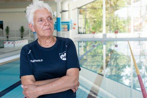 KRITISK: Leder i Ringerike svømmeklubb, Ragnhild Hoel.