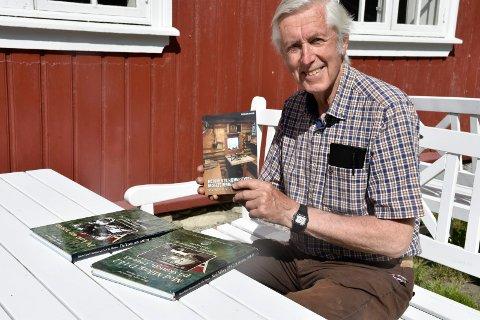 Forfatter: Bjørn Geirr Harsson har skrevet mye om lokale gutter på skauen. Nå handler det om venneforeningens liv og virke gjennom 50 år.