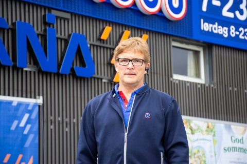 7 MILLIONER: Knut Tveter sier oppussingen koster Rema 1000 sju millioner kroner.