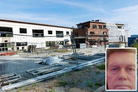 GJENOPPSTÅR: Tidligere Bergland hotell på Sokna skal gjenoppstå som leilighetsbygg, ifølge eier Jan Martin Opsahl i firmaet Befa AS.