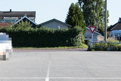 Trafikkuhellet skjedde her. Bildet er tatt i en annen sammenheng.