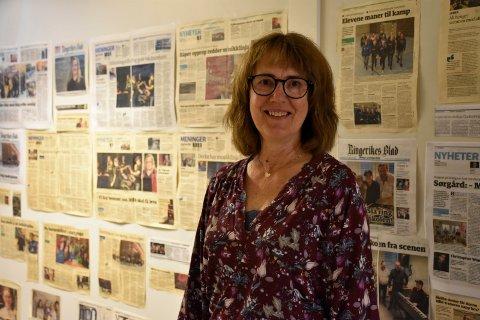 BEGIVENHETSRIKT: Det har skjedd mye på musikklinja i de 15 årene Inger-Helen Wien har jobbet her.