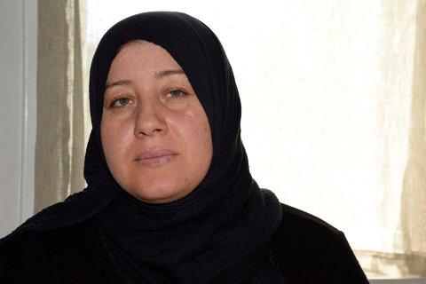 Rasha Alkadri (34) ble enke i juni, da hennes ektemann omkom i forsøket på å redde sønnen (10) som hadde falt i elva ved Tippen.