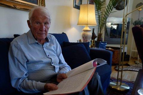 STERKT: Gunnar Gandruds søster Bjørg har fortalt en sterk historie til etterslekten om dramatiske krigsdager og opphold på Grini.