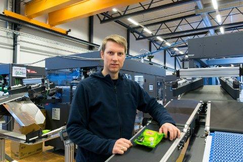 REISTE TIL BELGIA: Øyvind Brokerud (40) dro til Belgia for å installere maskiner for Tronrud Engineering da koronasmitten i landet var på sitt høyeste.