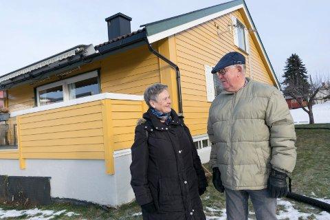 SELGERS MARKED: Huset til Turid og Erik Haraldseth ble solgt dagen etter visning. Prisen endte nesten en halv million over prisantydning.