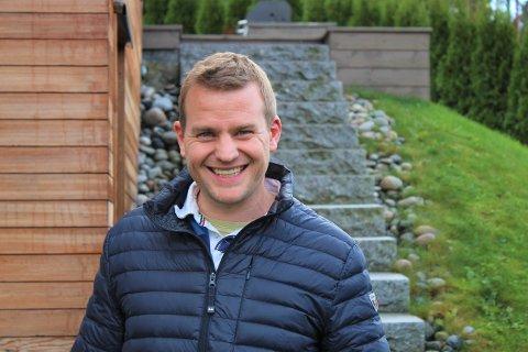 EGET SELSKAP: Knut Magnus Brentebråten brukte tiden sin på å starte opp eget selskap da han ble permittert i fjor. Det har han ikke angret ett sekund på.