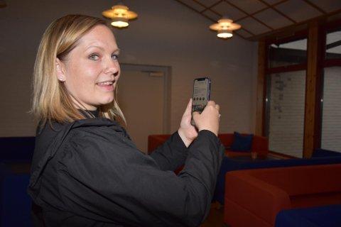 NY JOBB: Anett Bjerkan fikk jobben som sosiale medier-ansvarlig på Thorbjørnrud Hotell.