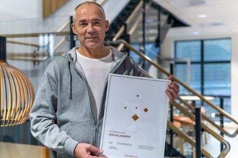 LEDER: Morten Sjaamo er prosjektleder for Smartnett.