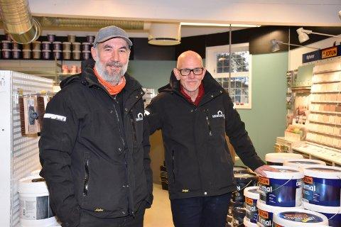 JOBBET SAMMEN: Ketil S. Rønning og Rune Jensen har tidligere jobbet sammen i Maxbo. Nå har de gått sammen om å satse for seg selv.