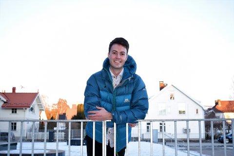 STOR INTERESSE: Over 150 000 besøkte Tronrud og teamets alfalansering av Læringsbanken. Nå ser han på plattformens fremtid med stor spenning. – Det er kult å være en av pådriverne bak en slik prosess, sier Carl August.