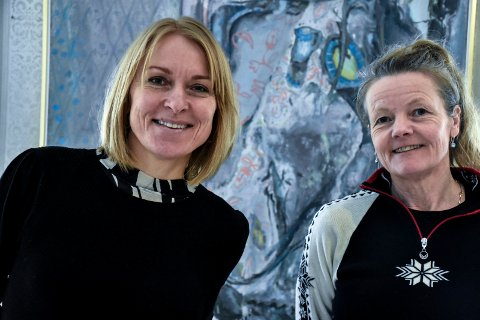 POPULÆRE: Birgitte Espeland og Kristin Gamme Helgaker på Kistefos kan velge og vrake mellom nesten 90 potensielle sesongarbeidere.