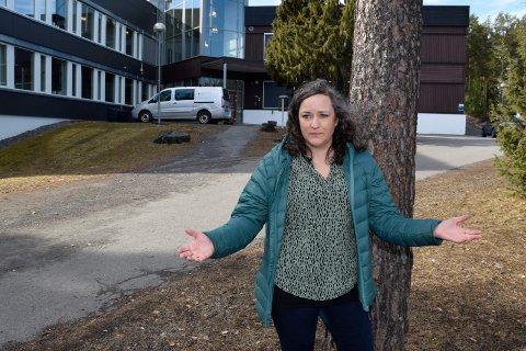 FORSTÅR IKKE: - Foreldrene sitter som store spørsmålstegn, sier Linn Torstensen, leder for kommunalt foreldreutvalg i Hole.