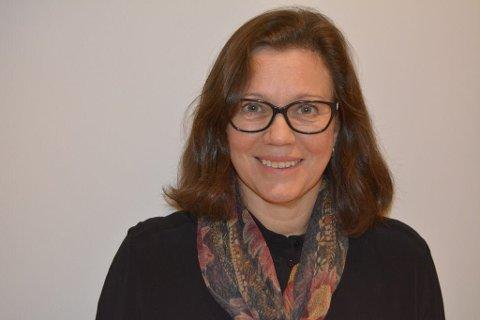 SPENNENDE TIDER: Det er spennende tider for Anne Berit Namork og Kartverket.